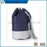 Promotional Fashion Reusable 600d Polyester Shopping Drawstring Backpack Bag