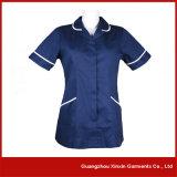 Mantel des Guangzhou-Fabrik Soem-kundenspezifischer Krankenhaus-Doktor-Krankenschwester (H3)