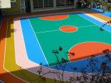 Пол поверхности спорта Badminton аттестации напольный PVC/Vinyl Bwf