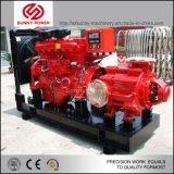 8inch 60kw 화재 400m3/H 압력 5bars를 위한 디젤 엔진 수도 펌프