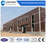 Пакгауз/мастерская стальной структуры полуфабрикат низкой стоимости легкий собирая с конструкцией