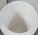 Coperchio leggero 1000c del tubo del silicato del calcio dell'isolamento termico