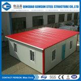 주문을 받아서 만들어진 중국 공급은 Prefabricated 모듈 강철 집을 착색한다
