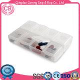Arbeitsweg-Pille-Organisator-Halter-wöchentlicher Plastik 7 Tagpille-Kasten