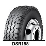 Estrella doble de Dsr266 445/45r19.5 todo el neumático radial de acero del carro