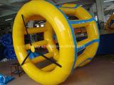 Rullo gonfiabile della ruota idraulica per affitto commerciale
