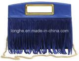 Heiß-Verkauf Metallhandgriff-Troddel-Dame-Handtasche (LY0054)