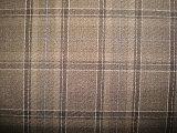 Linha dobro tela do terno de Polyeter de lãs do Twill da verificação
