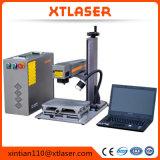 Faser-Laser-Markierungs-Maschinen-beweglicher Metallschrank 20W 30W 50W