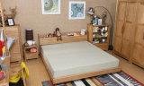 Cama de madera maciza modernas camas dobles (M-X2245)