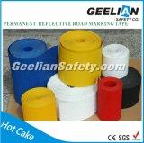 Reflektierendes Plasterungs-Markierungs-, Straßen-Markierungs-Band-, Schwarzes und Gelbesvorsicht-Band