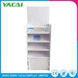 Kundenspezifischer Fußboden-Dokumenten-Papier-Standplatz-Zahnstangen-Speicher-Bildschirmanzeige-Preis