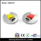Azionamento del USB del regalo di figura rotonda, vendita diretta della fabbrica del USB (USB-037)