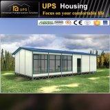 Buena casa prefabricada del aislante de calor con el plan de concepción