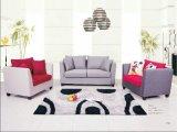 Sofà di piccola dimensione del tessuto, mobilia domestica, sofà moderno (S609)