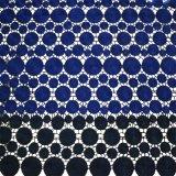 Hot vendre Double 100% polyester Couleur Broderie dentelle tissu du vêtement