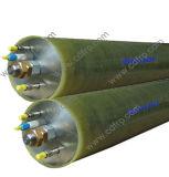 Tubo de disco com osmose inversa FRP com tampa de alta pressão para tratamento de lixiviação de aterro