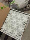 Фонари Греции белого мрамора Thassos каменной мозаики Backsplash плитки в элитном жилом дизайн интерьера стены
