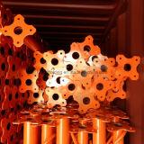 Puntelli dell'acciaio della costruzione verniciati TUFFO del sistema della cassaforma del fornitore della Cina