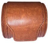 Vente en gros faite sur commande de cadre de montre de course de cuir de Faux