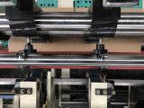 기계를 접착제로 붙이는 가득 차있는 자동적인 판지 상자