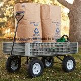 300 кг потенциала Pb-Free и УФ стабильной пластиковые сад корзина инструментов/пляж тележка TC4260