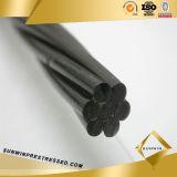 hilo inferior del acero de la PC de la relajación del alambre 1860MPa 7 de 12.7m m