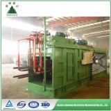 Machine automatique de presse hydraulique de pneu de rebut