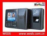 Tiempo de asistencia biométrico de huellas digitales de la máquina con sistema de control de acceso
