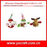 Decoración rellena la Navidad del día de fiesta del juguete de la decoración de la Navidad (ZY15Y057-1-2) para el producto del chino de la venta