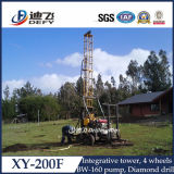 販売のための100-200m水掘削装置の機械装置の安い価格