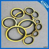 Rubber e Metal galvanizzati Bonded Washer