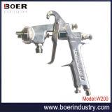 ペンキタンクDpポンプ(W-200)で使用される空気吹き付け器または圧着式紙送りの吹き付け器