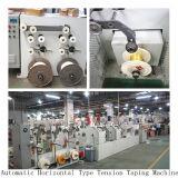 Tipo horizontal línea forma cónica de la alta calidad de la máquina de Taping de la tensión