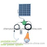 Ensemble d'éclairage portable Home Solar DC Kit de système d'énergie solaire avec câble USB