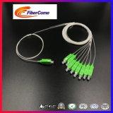 섬유 광학적인 0.9 mm SC/PC/Upc/APC 1X8 PLC 쪼개는 도구
