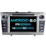 Witson Acht Androïde 8.0 Auto van de Kern DVD voor IPS van ROM van het Scherm van de Aanraking van ROM 1080P van Toyota Avensis 2008-2013 4G 32GB het Scherm