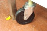 Het nieuwe Rek van de Opslag van de Keuken van de Apparatuur van 4 Planken 150kg van het Ontwerp Op zwaar werk berekende Regelbare Commerciële