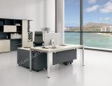 L 모양 현대 간단한 사무실 목제 가구 Excutive 사무실 책상 (BL-BMYDB20B)