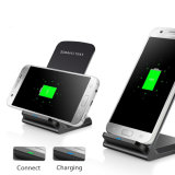 Neueste leistungsfähige schnelle drahtlose Aufladeeinheit für Samsung S8, Qi-drahtlose Aufladeeinheit für iPhone 8 für iPhone X