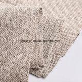 2018 100% poliéster simple tejido de lino de color puro paño sofá