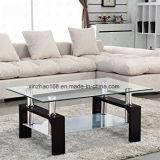 Tavolino da salotto di vetro moderno della mobilia del salone