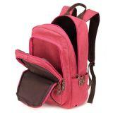 型のキャンバスの女の子袋のリュックサックの学校のバックパック