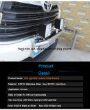 Negro Plata encabezó los trabajos de montaje de la luz de soporte de matrícula para el coche