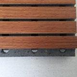 De houten Gegroefte Akoestische Comités van de Muur