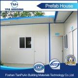 Buena casa modular de la azotea plana del aislante para el personal