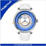 Romantische Art-Edelstahl-Dame-Geschenk-Armbanduhr mit Schweizer Qualität