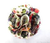 Оптовая торговля мода головные уборы шифон ремесел цветы декоративные аксессуары для одежды