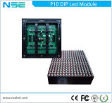 Módulo ao ar livre do diodo emissor de luz do serviço 1r1g1b da parte dianteira do MERGULHO P10