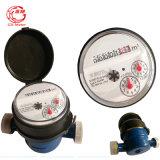 Um medidor de água Dn15-25mm do jato único